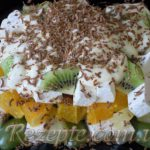 Быстрый фруктовый десерт