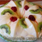 Фруктово-желейный торт
