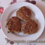 Гречневые оладьи с мясом