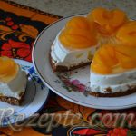 Холодный торт абрикосовый