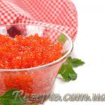Икра соленая деликатесная красная