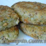 Котлеты из консервированной рыбы с рисом
