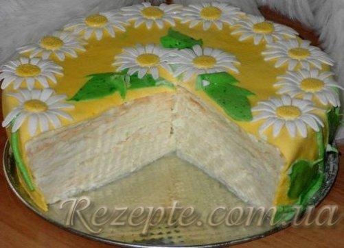 Торт Наполеон рецепт №2