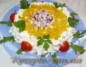 Салат с рыбой Одесский