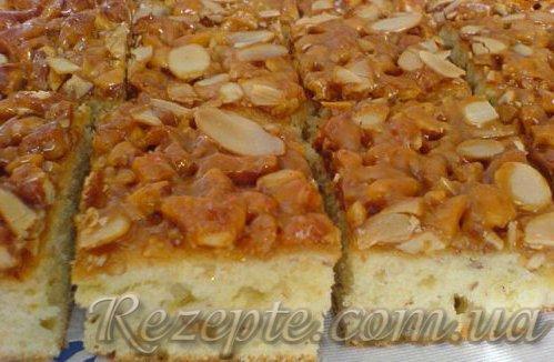 Ореховое пирожноеё