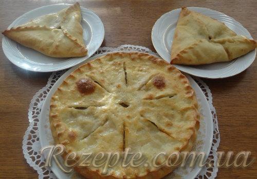 """Осетинский пирог """"Фыдджинта"""" с мясом"""