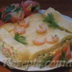 Рулет из сыра с креветками