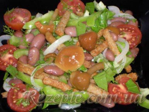 Салат с фасолью рецепт №2
