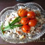 Салат c курицей и болгарским перцем МОСКВА