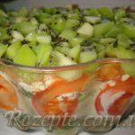 Салат с языком и помидорами ИЗУМРУД