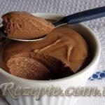 Шоколадный мусс из творога