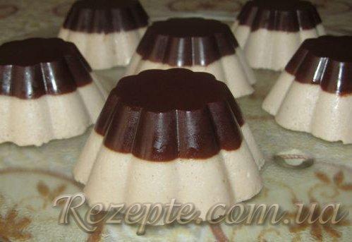 Шоколадно-творожный десерт ДУЭТ