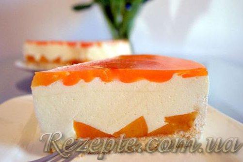 Сливочно-творожный торт
