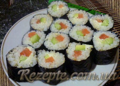 Суши рецепт