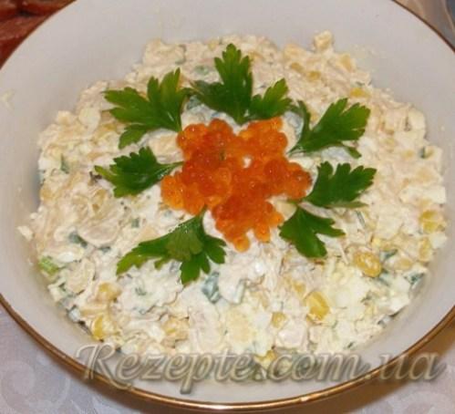Салат с курицей Свекровь