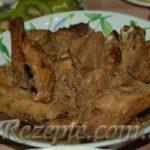 Свиные рёбрышки в пикантном соусе