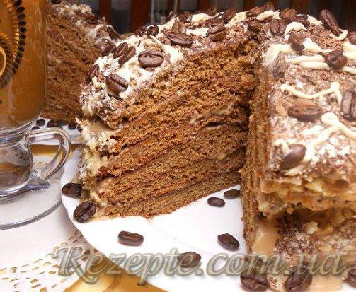 Торт кофейный