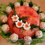 Салат-торт Рыбный