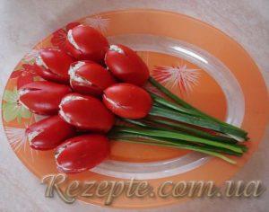 Салат к восьмому марта Тюльпаны