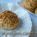Творожные булочки с орехами