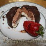 Ванильно-шоколадное мороженое