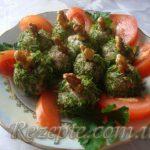 Закуска с печени Шарики