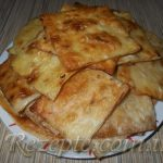 Закуска мясная из лаваша