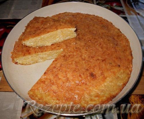 Запеканка из картофеля и сыра