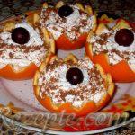 Десерт с апельсинами
