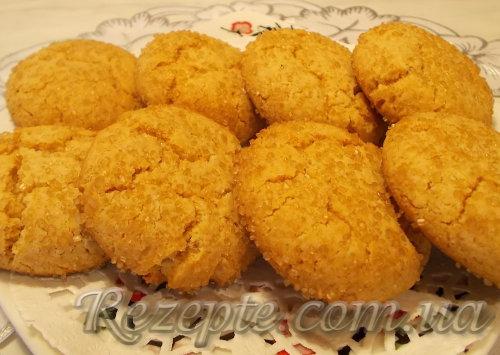 Имбирно - медовое печенье