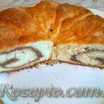 Рулет с ореховой начинкой
