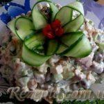 Салат из копчёной грудки
