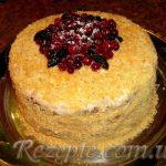 Сметанный торт со сметанно-творожным кремом в мультиварке