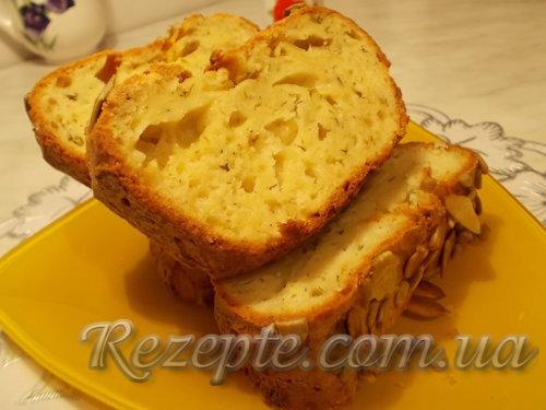 Закусочный кекс с кабачком