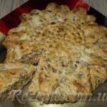 Заливной пирог c мясом и грибами